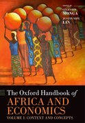 Cover for The Oxford Handbook of Africa and Economics