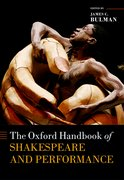 Cover for The Oxford Handbook of Shakespeare and Performance