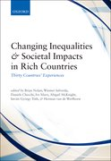 Cover for Changing Inequalities and Societal Impacts in Rich Countries