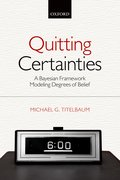 Cover for Quitting Certainties