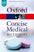 Cover for Concise Medical Dictionary