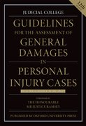 Cover for Guidelines for the Assessment of General Damages in Per