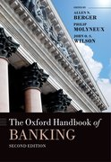 Cover for The Oxford Handbook of Banking, Second Edition