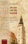 Cover for The Text and the World