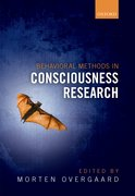 Cover for Behavioural Methods in Consciousness Research