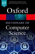 Cover for A Dictionary of Computer Science