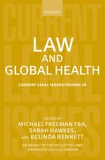 Cover for Law and Global Health