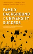 Cover for Family Background and University Success