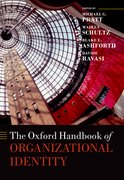 Cover for The Oxford Handbook of Organizational Identity - 9780199689576