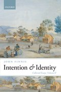 Cover for Intention and Identity