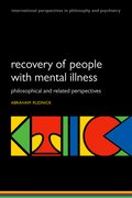 Cover for Recovery of People with Mental Illness