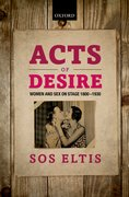 Cover for Acts of Desire