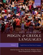 Cover for The Survey of Pidgin and Creole Languages Volume I English-based and Dutch-based Languages