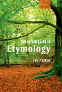 Cover for The Oxford Guide to Etymology