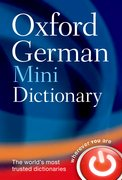 Cover for Oxford German Mini Dictionary