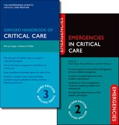 Cover for Oxford Handbook of Critical Care Third Edition and Emergencies in Critical Care Second Edition Pack