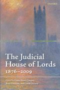The Judicial House of Lords 1876-2009