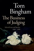 Cover for The Business of Judging