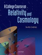 Cover for A College Course on Relativity and Cosmology