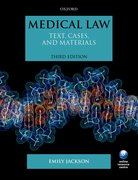 Jackson: Medical Law Text, Cases, & Materials  3e