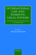 Cover for International Law and Domestic Legal Systems
