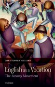 Cover for English as a Vocation