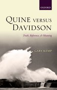 Cover for Quine versus Davidson