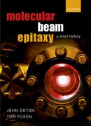 Cover for Molecular Beam Epitaxy