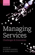 Cover for Managing Services