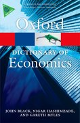 Cover for A Dictionary of Economics