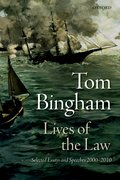 Cover for Lives of the Law