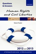 Cover for Q&A Human Rights and Civil Liberties 2012 and 2013