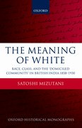 Cover for The Meaning of White