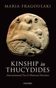 Cover for Kinship in Thucydides
