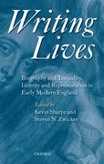 Cover for Writing Lives