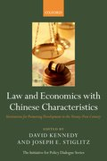 Cover for Law and Economics with Chinese Characteristics