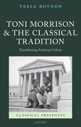 Cover for Toni Morrison and the Classical Tradition