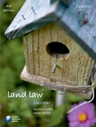Clarke & Greer: Land Law Directions 3e