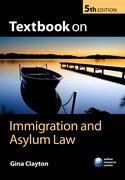 Cover for Textbook on Immigration and Asylum Law