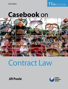 Cover for Casebook on Contract Law