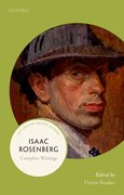 Cover for Isaac Rosenberg