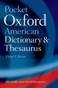 Cover for Pocket Oxford American Dictionary & Thesaurus