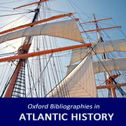 Cover for Oxford Bibliographies in Atlantic History