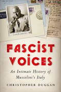 Cover for Fascist Voices