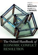 Cover for The Oxford Handbook of Economic Conflict Resolution