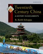 Cover for Twentieth Century China