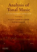 Cover for Analysis of Tonal Music