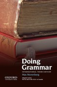 Cover for Doing Grammar, Third Edition, International Edition