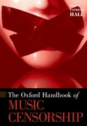 Cover for The Oxford Handbook of Music Censorship