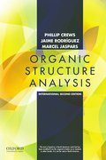 Cover for Organic Structure Analysis